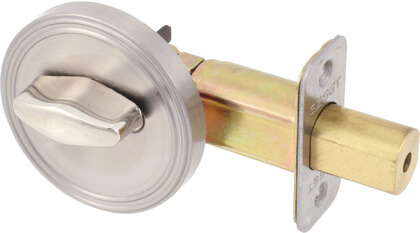 One Sided Half Bore Deadbolt