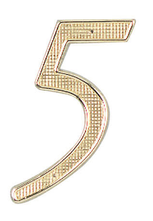 "4"" Metal House Numbers"